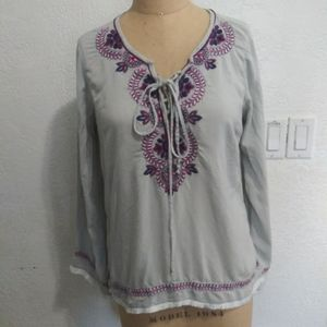 ⭐Love stitch embroidered tunic